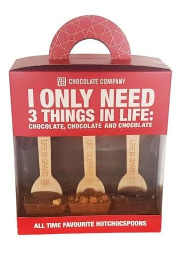 Chocolate Company Caramel Lovers Gift Pack For Hot Chocolate