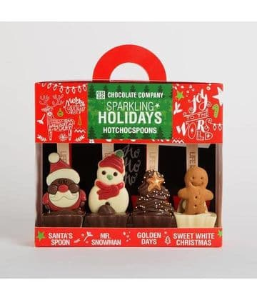 Chocolate Company Holiday Collection Gift Pack For Hot Chocolate