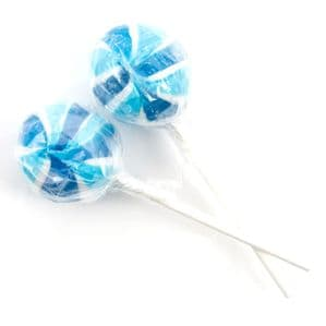 Crazy Candy Factory Gourmet Blueberry Lolly