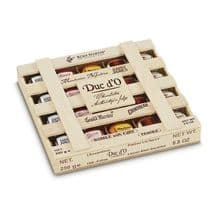 Duc d'O Liqueurs in Wood Crate 250g