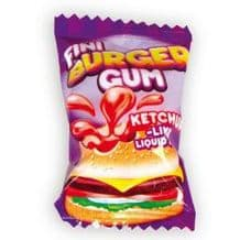 Fini Burger Liquid Filled Gum
