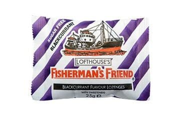 Fisherman's Friend Sugar Free Blackcurrant 25g