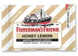 Fisherman's Friend Sugar Free Honey And Lemon 25g