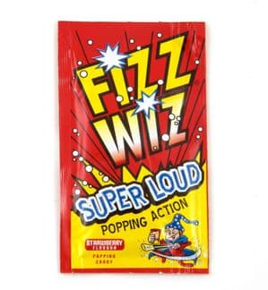 Fizz Wiz Strawberry Flavour Popping Candy