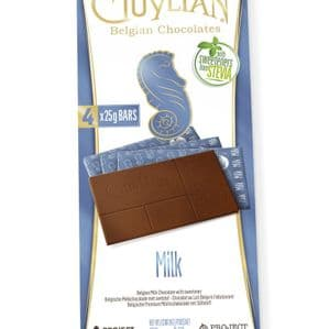 Guylian No Sugar Added Belgian Milk Chocolate 100g