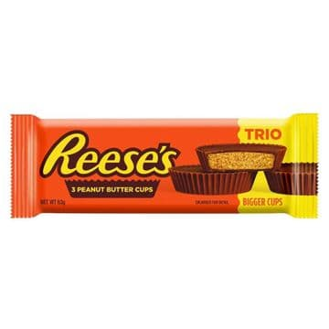 Hershey's Reese's Peanut Butter Cups Trio 63g