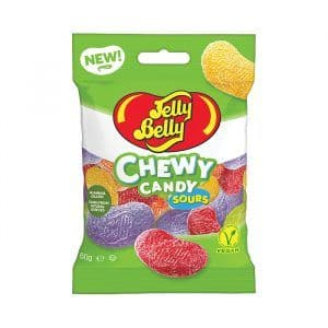 Jelly Belly Assorted Sours Chewy Candy 60g