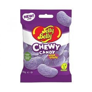 Jelly Belly Sour Grape Chewy Candy 60g