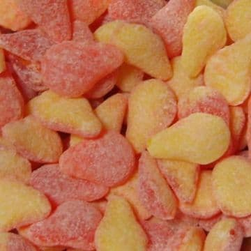 Large Pear Drops Sweets 100g