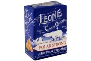 Leone Pastilles Polar Strong Flavour Sweets 30g