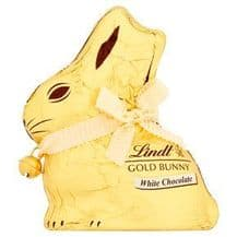 Lindt White Chocolate Gold Bunny 200g