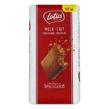 Lotus Milk Chocolate With Speculoos Biscuit Pieces 180g