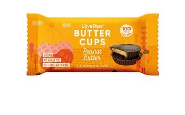 LoveRaw Peanut Butter Cups 34g