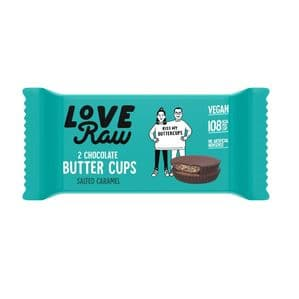 LoveRaw Salted Caramel Butter Cups 34g