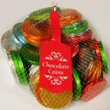 Milk Chocolate Coins Net 400g