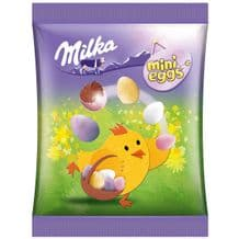 Milka Mini Chocolate Easter Eggs 100g