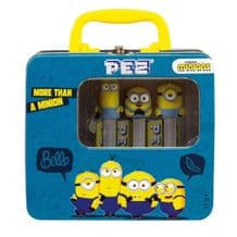 Pez Dispenser Minions Gift Tin
