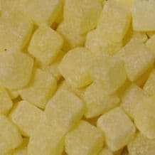 Pineapple Cubes (Chunks) Sweets 100g