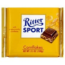 Ritter Sport Cornflakes In Milk Chocolate 100g