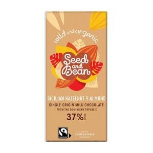 Seed & Bean Sicilian Hazelnut And Almond Milk Chocolate