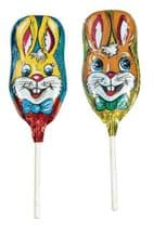 Storz Chocolate Foiled Easter Rabbit Lolly