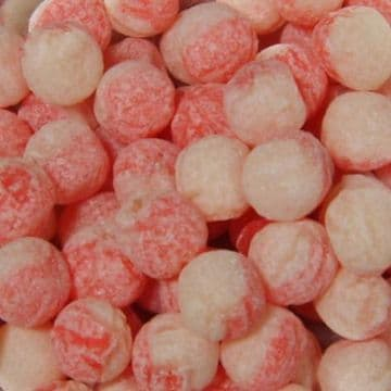 Strawberry & Creme Flavour Sweets 100g