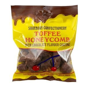 Toffee Honeycomb Covered in Chocolate Flavour Coating 150g