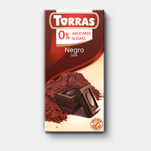 Torras No Added Sugar Dark Chocolate Bar 75g