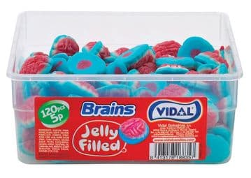 Vidal Jelly Brains Tub Of 120