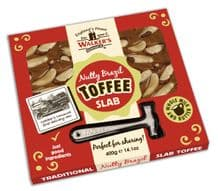 Walkers Nonsuch Brazil Nut Toffee Slab & Hammer 400g