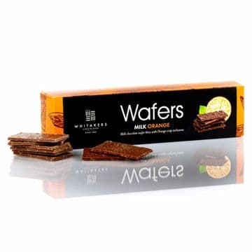 Whitakers Milk Chocolate Orange Wafer Thins 175g