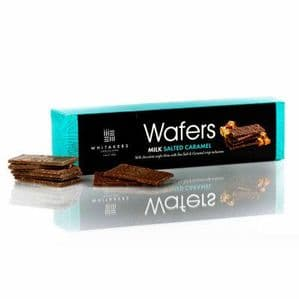 Whitakers Milk Chocolate Salted Caramel Wafer Thins 175g