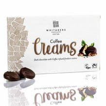 Whitakers Plain Chocolate Coffee Cremes 150g