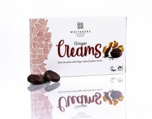 Whitakers Plain Chocolate Ginger Cremes 150g