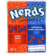 Wonka Nerds Wildberry & Peach 46g