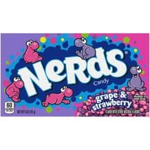 Wonka Rainbow Nerds Strawberry & Grape Theatre Box 141g