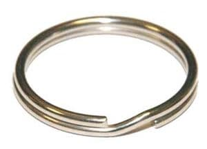 KEY RING 24MM STAINLESS STEEL.
