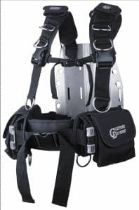 SPORTS HARNESS WITH Q/RELEASE WEIGHT POCKET SYSTEM