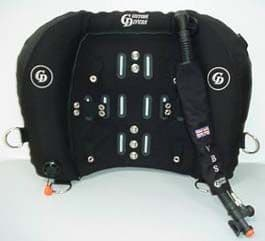 VARIABLE BUOYANCY (31-47 LBS) SYSTEM (With b/plate, Sports harness complete).