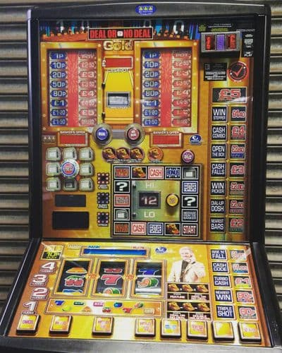 Deal or No Deal -  Gold - £5 Fruit Machine