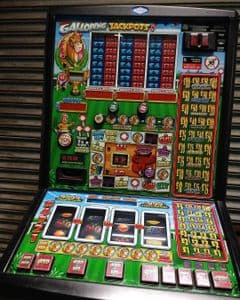 Galloping Jackpots  - Latest £400 Jackpot Club Fruit Machine - Note Acceptor