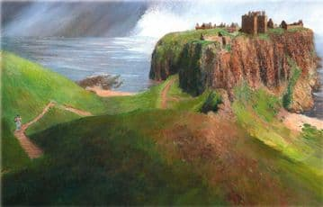 2 Dunnottar Castle Prints