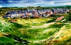 3rd Green, Cruden Bay