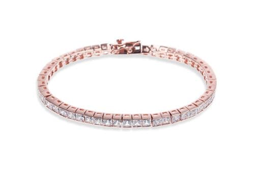 Ivory & Co. Rose Gold Elegance Bracelet