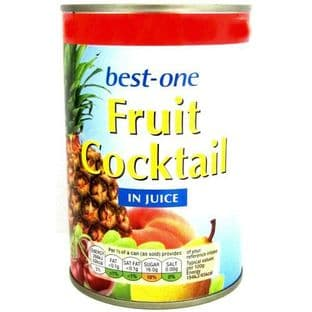 Best One Fruit Cocktail In Juice 411g