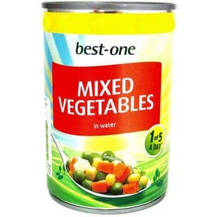 Best One Mixed Vegetables 300g