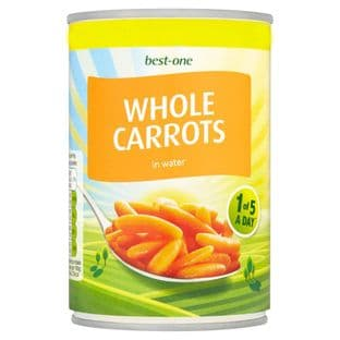 Best One Whole Carrots 300g