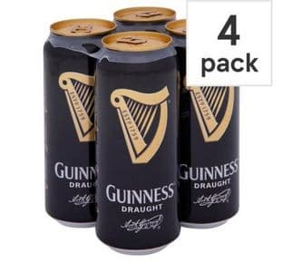 Guinness Cans 4x500ml