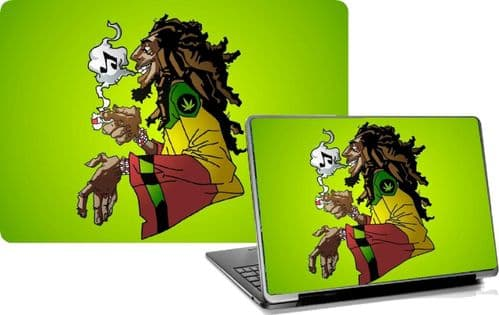 BOB MARLEY Laptop Skins Vinyl Stickers Custom Designs