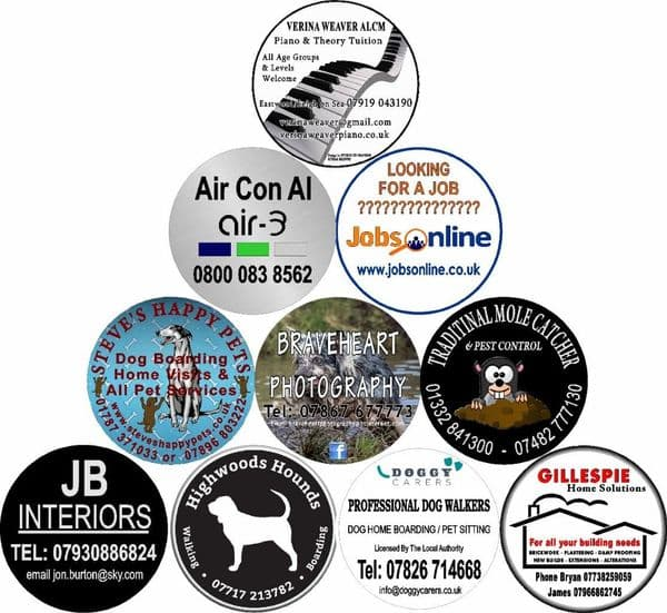 BUSINESS ADVERTISING 4x4 Semi-Rigid Spare Wheel Cover